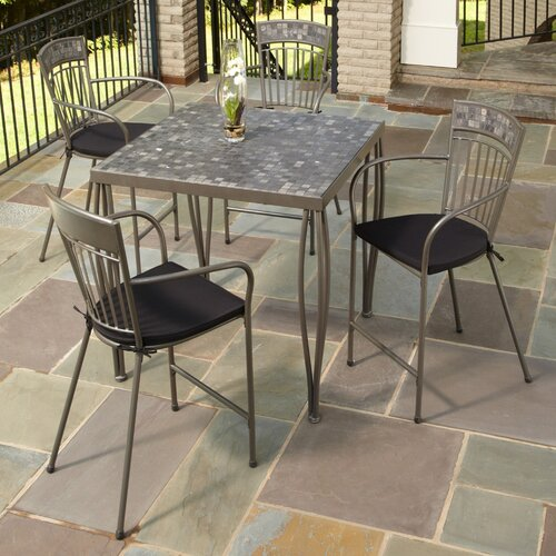 Glen Rock 5 Piece Bistro Set