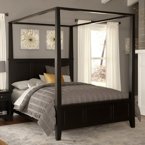 home styles bedford canopy bed reviews wayfair