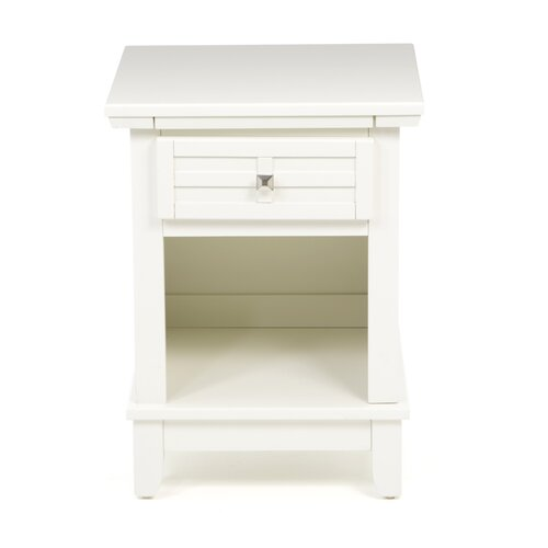Home Styles Arts & Crafts 1 Drawer Nightstand