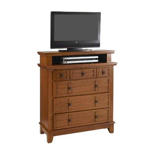 """Home Styles Arts & Crafts 4 Drawer 36"""" TV Media Chest"""
