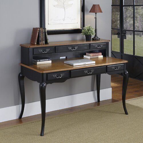 French Countryside Computer Desk with Hutch