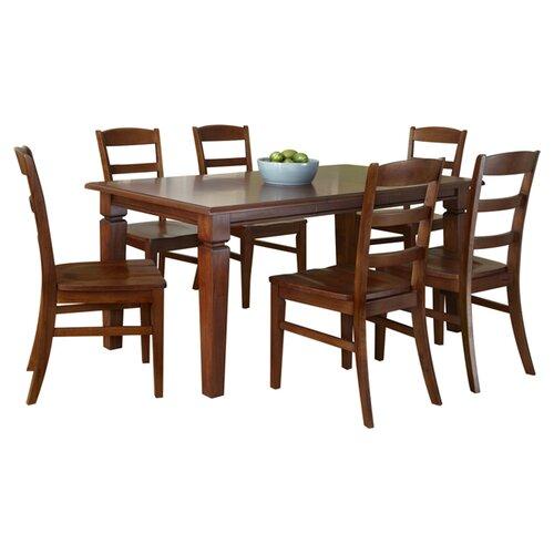 Home Styles Aspen 7 Piece Dining Set