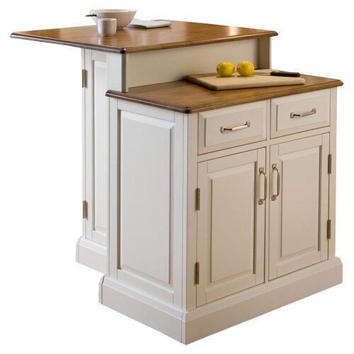 Home styles woodbridge kitchen island reviews wayfair for Homestyles kitchen island