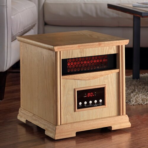 Dynamic Infrared Dynamic 4 Quartz Element 1,500 Watt Infrared Cabinet Space Heater