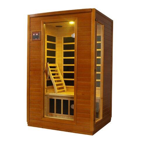 Dynamic Infrared Luxury 2 Person IR Carbon FAR Infrared Sauna ...