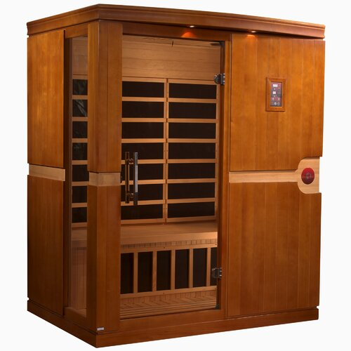 Dynamic Infrared Madrid 3 Person FAR Infrared Sauna ...
