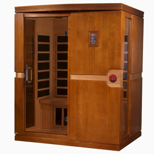 Dynamic Infrared Madrid 3 Person FAR Infrared Sauna & Reviews ...