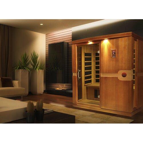 Madrid 3-Person FAR Infrared Sauna