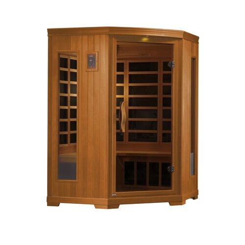 Torino 3-Person Corner FAR Infrared Sauna