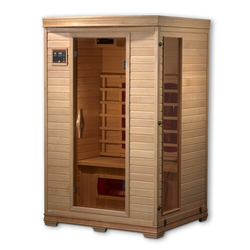 Dynamic Infrared Luxury 2 Person Ceramic FAR Infrared Sauna
