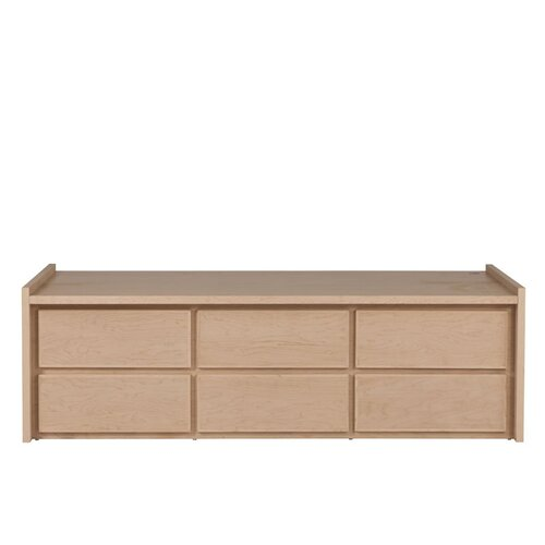 Thompson Twin 6 Drawer Storage Platform Bed Wayfair