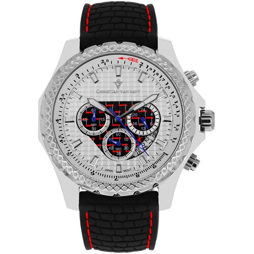 Men's Sports Retrograde Chronograph Watch
