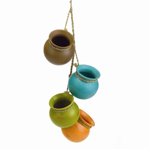 Dangling Decorative Santa Fe Pot