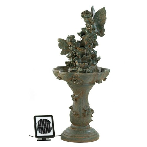 Zingz & Thingz Fairy Friends Solar Water Fountain