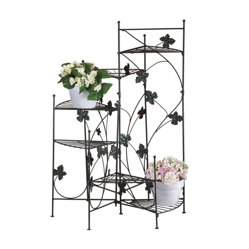 zingz thingz climbing vines multi tiered plant stand reviews wayfair