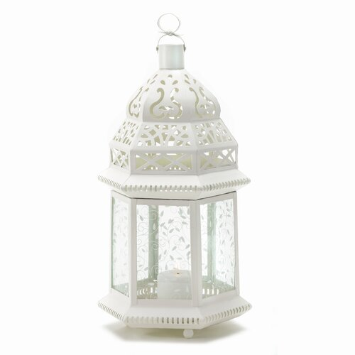 Zingz & Thingz Tall Ivory Vines Candle Gazebo