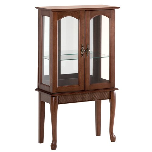 Zingz & Thingz Distinguished Curio Cabinet