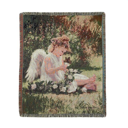Zingz & Thingz Cherub in the Roses Tapestry