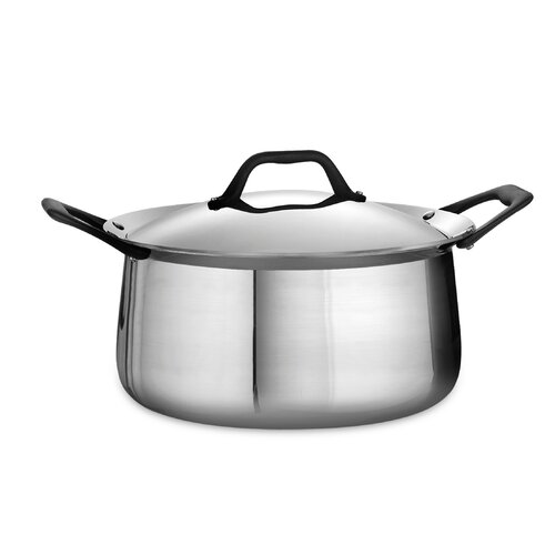 Limited Edition 6-qt. Stainless Steel Round Dutch Oven