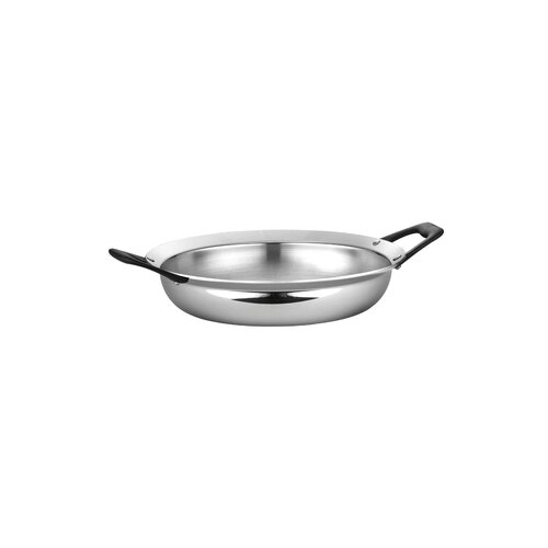 Limited Edition Butterfly Stainless Steel 3-qt. Open Frying Pan
