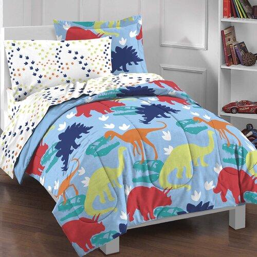 Dinosaur 5 Piece Bed Set