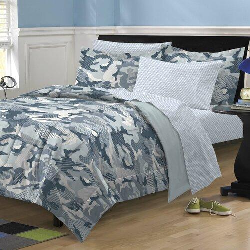 Geo Camo Bed Set