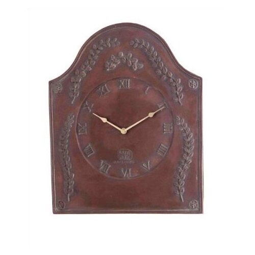 Laurel Leaf Indoor / Outdoor Wall Clock