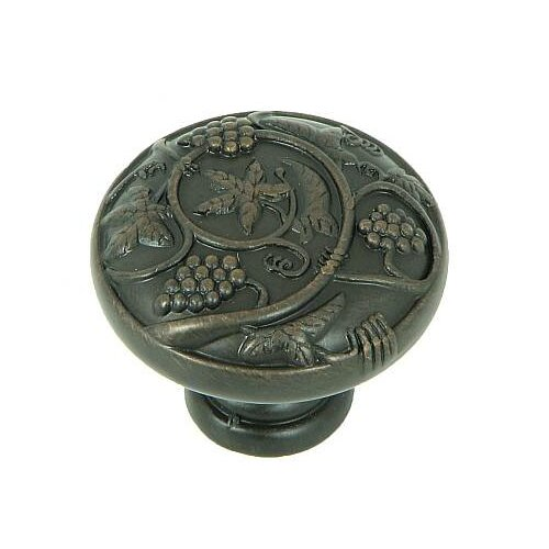 "Stone Mill Hardware Vineyard Harvest 1.25"" Round Knob"