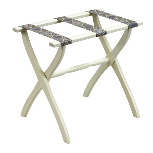 Gate House Furniture 1700 Series Contour Leg Luggage Rack