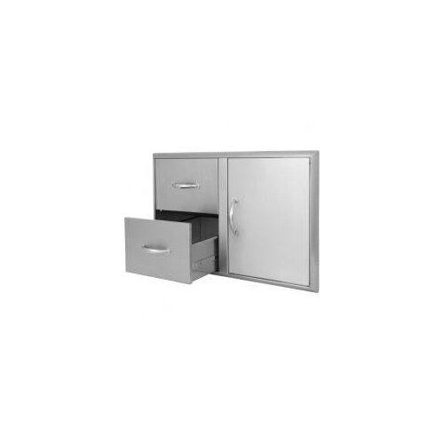 Blaze Grills Access Door and Double Drawer Combo
