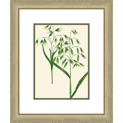 Emerald Foliage lll Framed Graphic Art