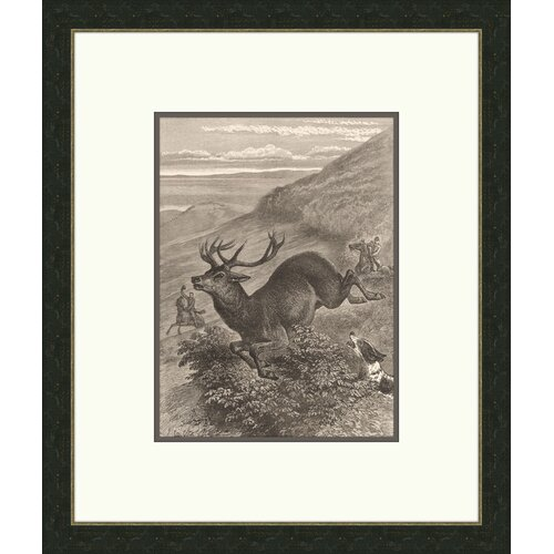 Forest Dwellers ll Framed Graphic Art