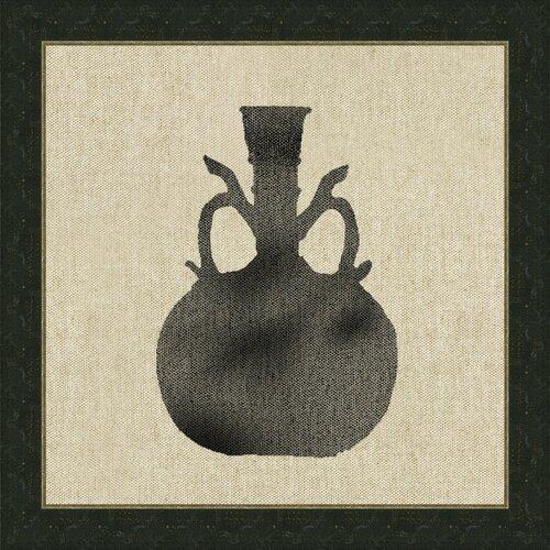 Vase IX Framed Graphic Art