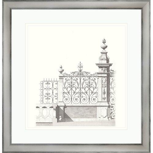 Gates ll Framed Graphic Art