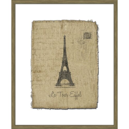 Tour de Eiffel Framed Graphic Art