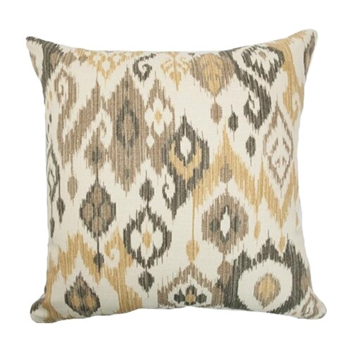Odayle Ikat Cotton Pillow