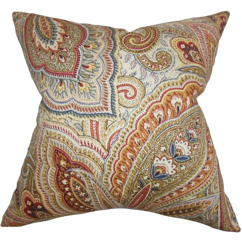 Lalage Paisley Pillow