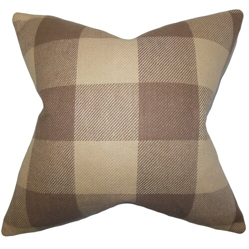 Abrial Plaid Pillow