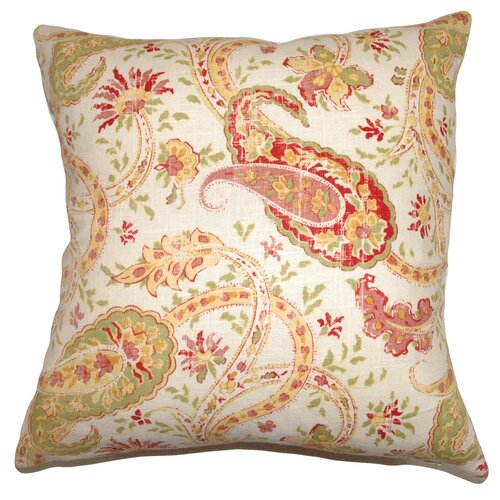 Berenice Paisley Cotton Pillow