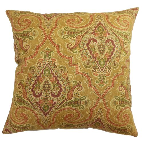 Iberia Paisley Cotton Pillow