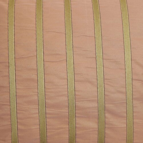 The Pillow Collection Darja Stripes Silk / Polyester Pillow