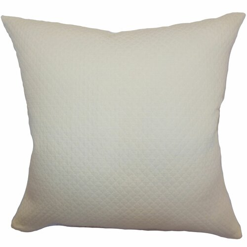 Capri Herringbone Cotton Pillow