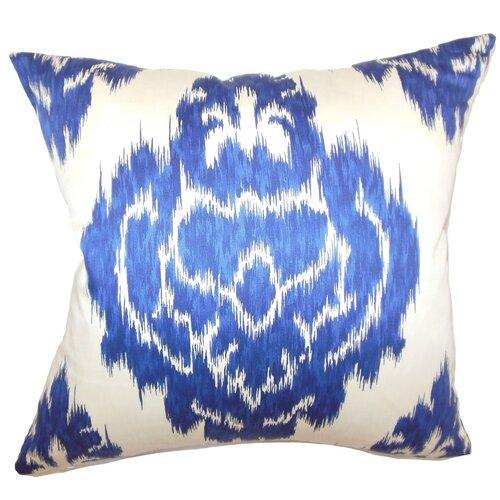 The Pillow Collection Icerish Ikat Cotton Pillow