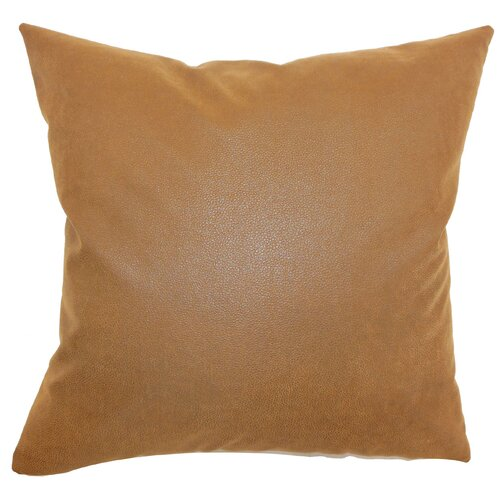 The Pillow Collection Neale Plain Polyester Pillow