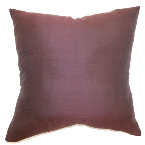 Uzma Plain Silk Pillow