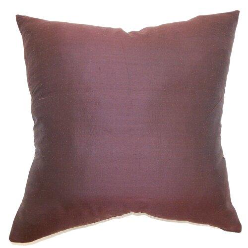 Uzma Plain Silk Pillow