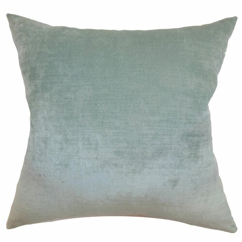 The Pillow Collection Haye Plain Velvet Pillow