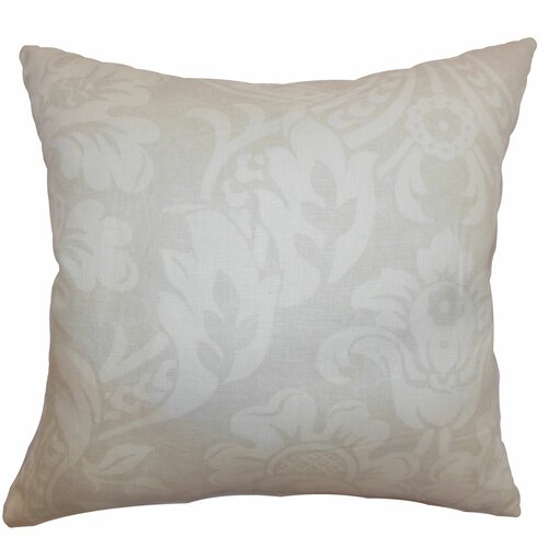 Marcail Floral Cotton Pillow