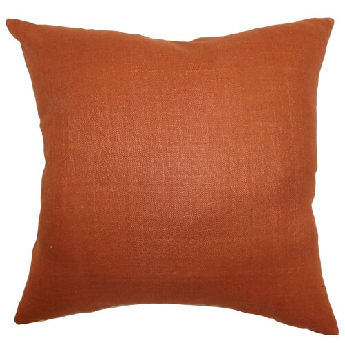Zaafira Plain Silk Pillow