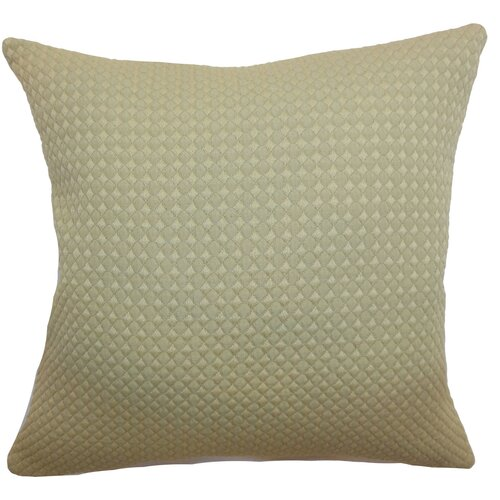 Helm Quilted Cotton Pillow